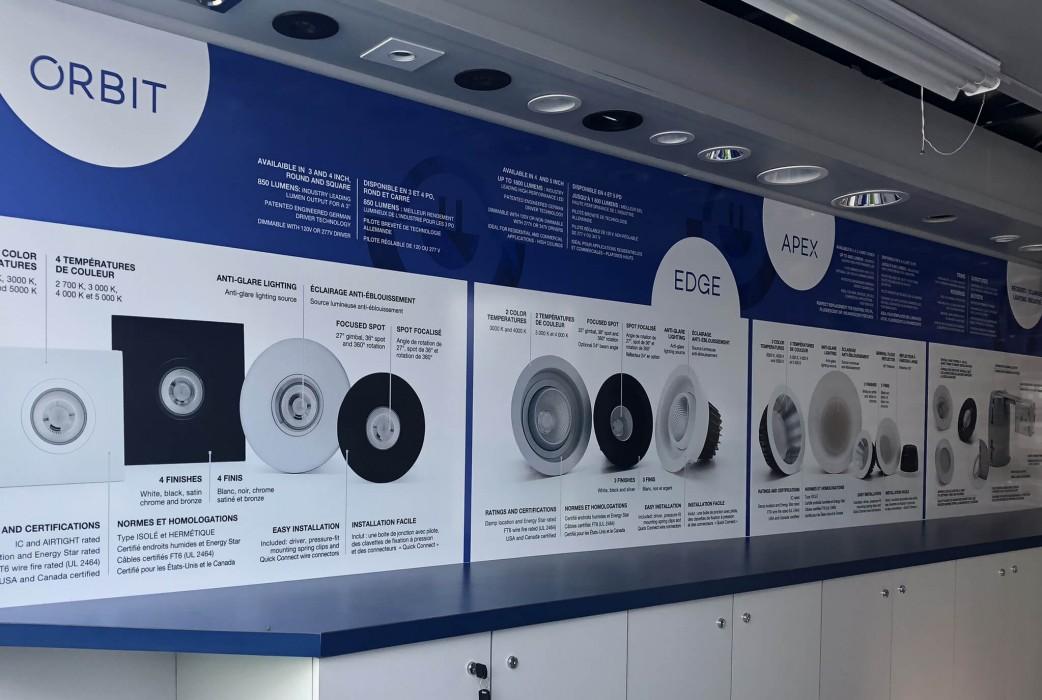 Showroom: Mobile presentation unit - inside