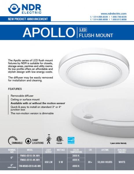Sell Sheets: Apollo