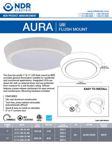 Sell Sheets: Aura