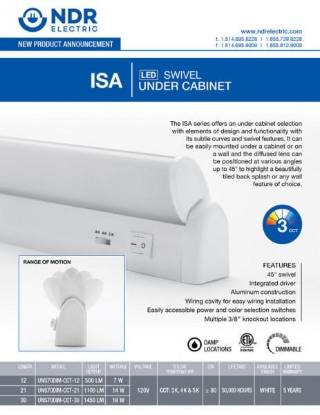 Sell Sheets: ISA