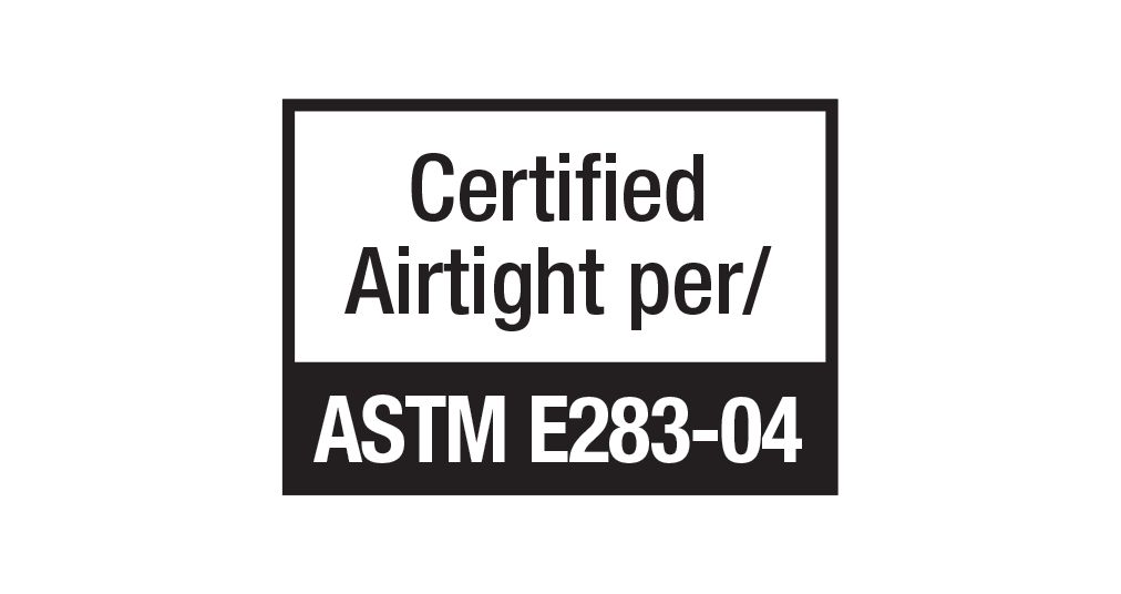ASTM (E283-04) rating icon
