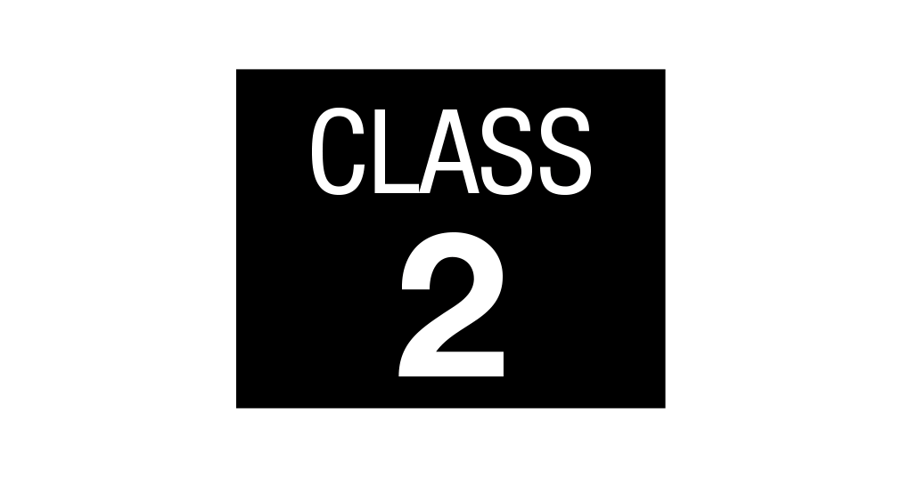 Class 2 rating icon