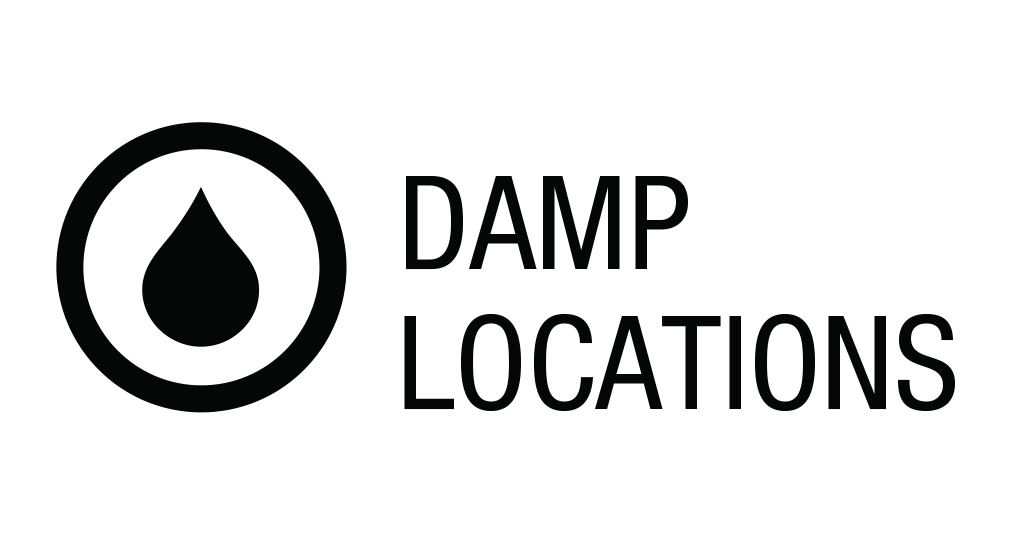 Damp Locations rating icon